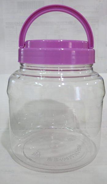 **好幫手生活雜鋪** 金晶筒 4公升 --- 收納罐.收納桶.零食罐.塑膠筒.塑膠桶