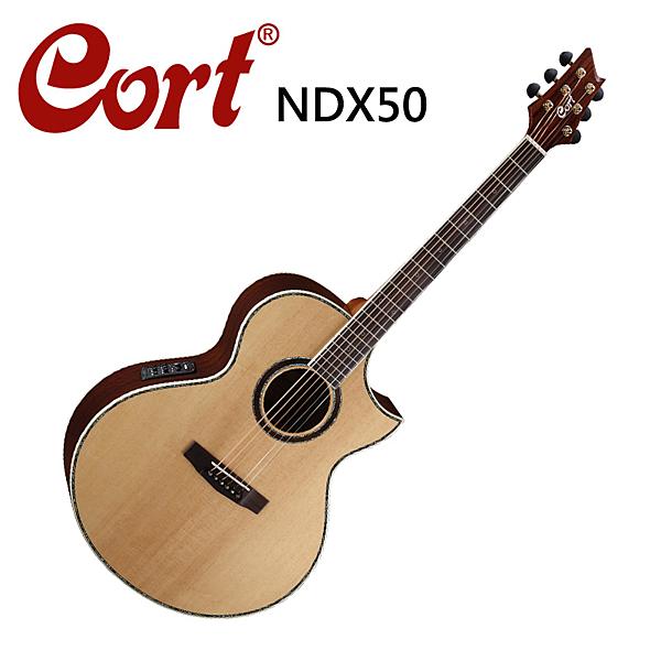 ★CORT★NDX-50雲杉面板玫瑰木側板電木吉他-內建FISHMAN EQ