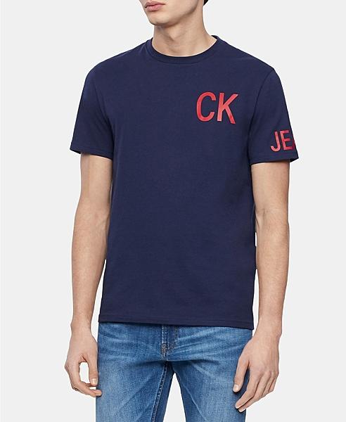 美國代購 Calvin Klein 七種顏色 短袖T恤 (S~XXL) 1357