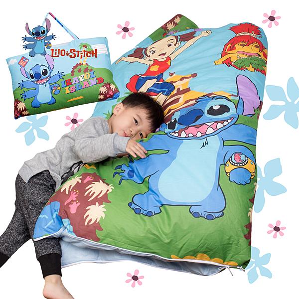 史迪奇 跳躍 兒童睡袋 標準 台灣製 超取限一顆 伊尚厚生活美學
