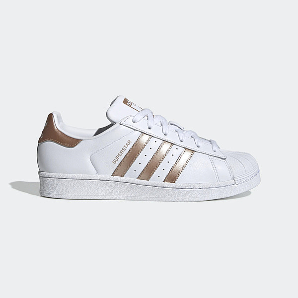 Adidas Originals Superstar W [EE7399] 女鞋 運動 休閒 經典 百搭 愛迪達 白金