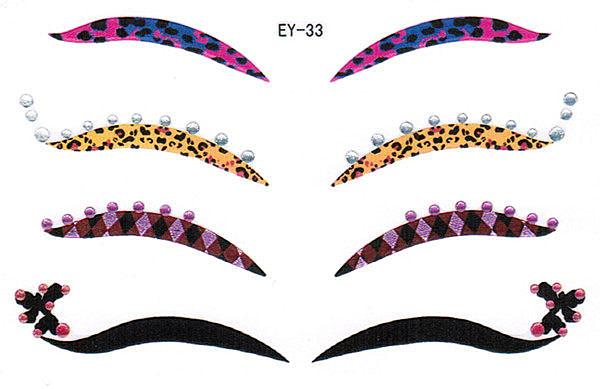 薇嘉雅       歐美流行個性眼線貼紙 EY33
