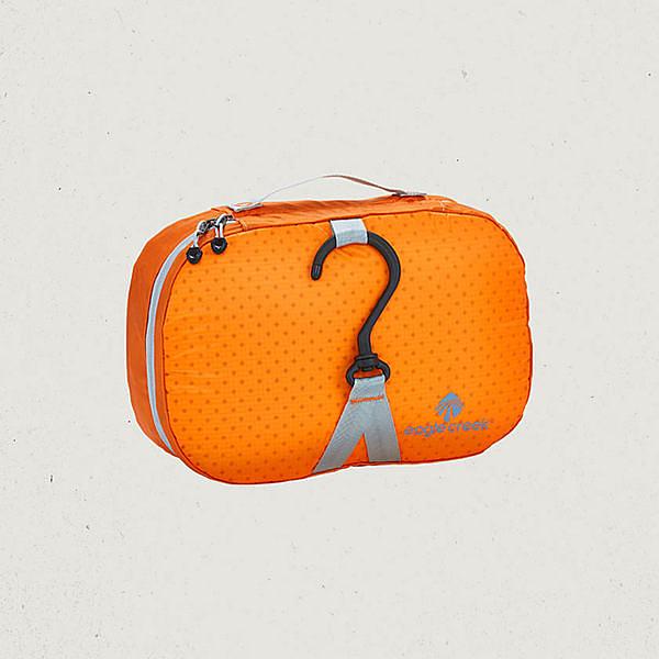 【Eagle Creek美國人氣旅遊配件】超輕量掛鉤式旅行盥洗包 (橘)