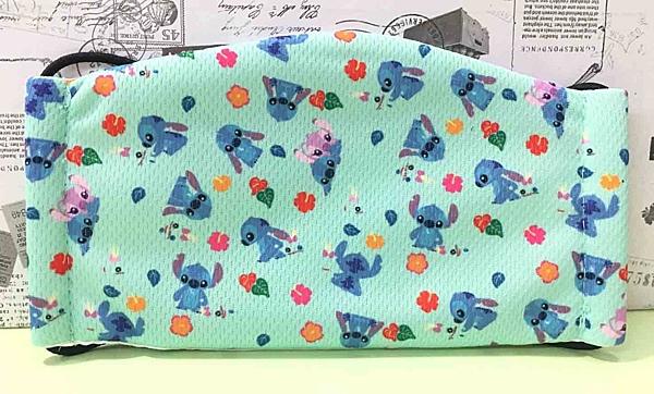 【震撼精品百貨】Stitch_星際寶貝史迪奇~小孩口罩-綠*21417
