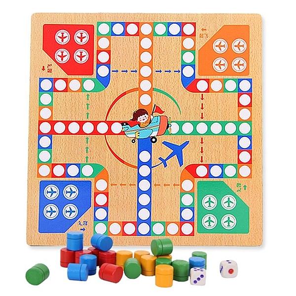 桌游互動棋類益智玩具3-4-6歲兒童飛行棋