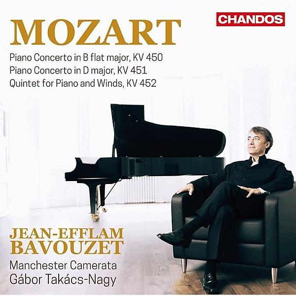 【停看聽音響唱片】莫札特:第15.16號鋼琴協奏曲 巴佛傑 鋼琴