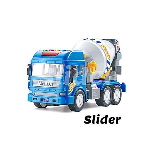 Slider 工程車系列-水泥預拌車[衛立兒生活館]