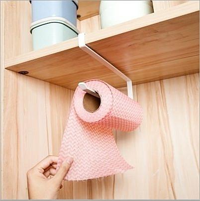 鐵製櫥櫃廚房紙巾收納架 KTC0005