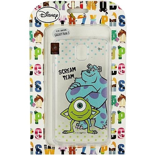 【Disney】Samsung Galaxy Note 3 (N9000) 彩繪透明保護軟套