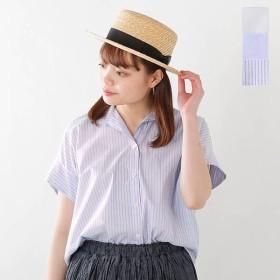 sakayori. サカヨリ コットンテンセルポプリンスキッパーカラーシャツ s31-21509