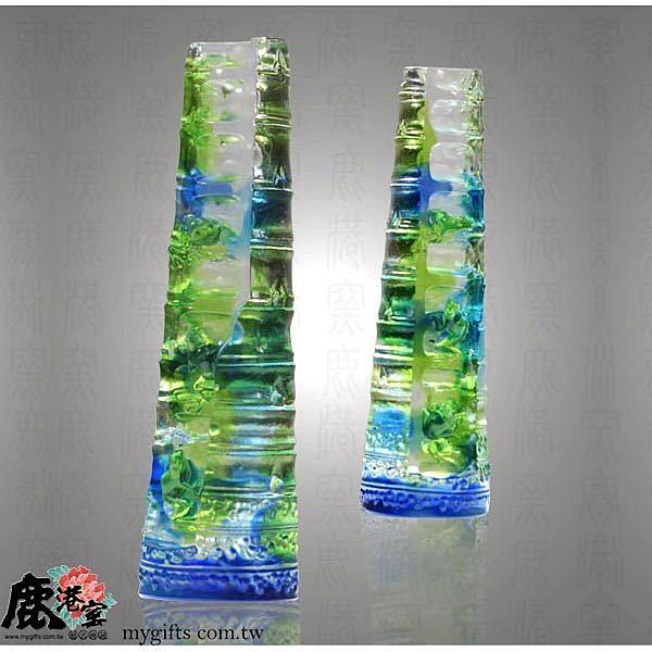 琉璃【節節高昇(青蛙)】 包裝精美◆附古法製作珍藏保證卡◆免運費送到家