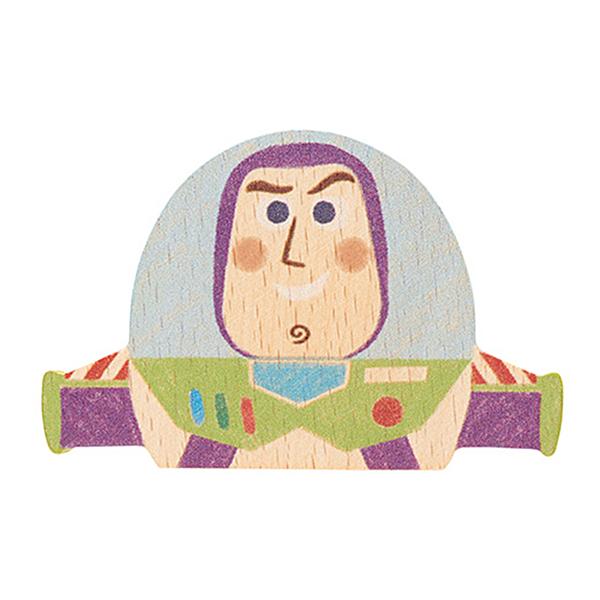Disney KIDEA 迪士尼益智平衡積木 小木塊 玩具總動員 巴斯光年_BD01992