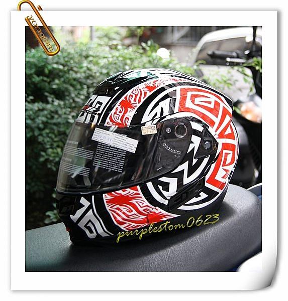 M2R安全帽,OX2,#5/黑紅