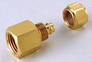 水電材料 風壓接頭 氣壓缸用 快速接頭 風用 SPCF 1/8 PT外牙*6mm PU管