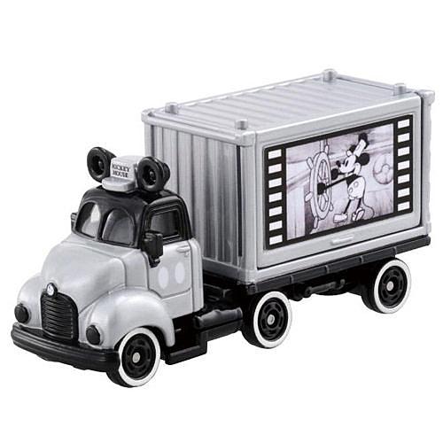 【震撼精品百貨】 TOMICA多美~TOMICA迪士尼小汽車米奇90週年紀念貨櫃車-銀#11409
