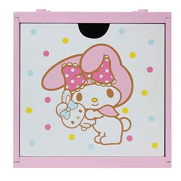 【震撼精品百貨】My Melody 美樂蒂~美樂蒂粉彩積木盒