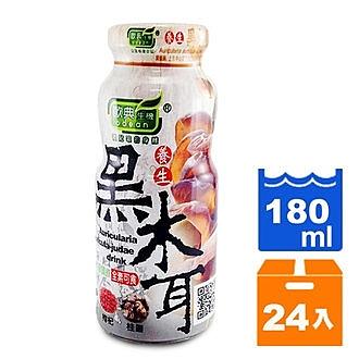 歐典生機 養生黑木耳 180ml (24入)/箱【康鄰超市】
