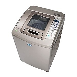 台灣三洋SANLUX 15公斤內外不鏽鋼超音波變頻洗衣機 SW-15DU1 / 六芒星鑽迴轉盤