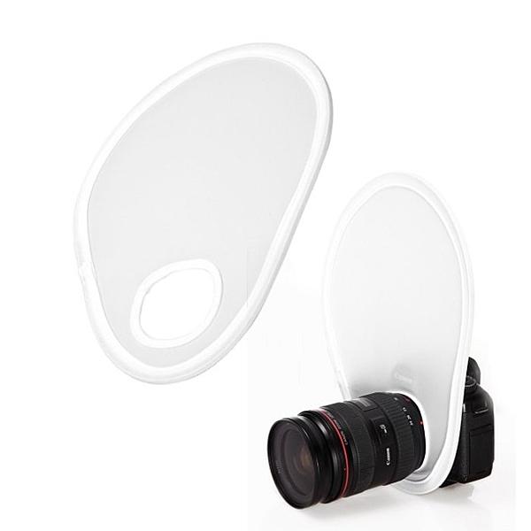 【EC數位】閃光燈迷你柔光板 內閃 機頂閃光燈柔光板 58-77鏡頭口徑適用 可折疊 附收納袋