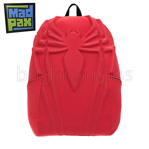 MadPax時尚造型包-紅蜘蛛-大包