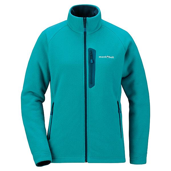 [好也戶外]mont-bell 女款CP200高保暖刷毛夾克/青藍 No.1106581TQB