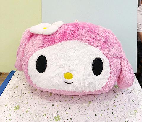 【震撼精品百貨】My Melody_美樂蒂~Sanrio美樂蒂造型靠墊-粉大頭#58550