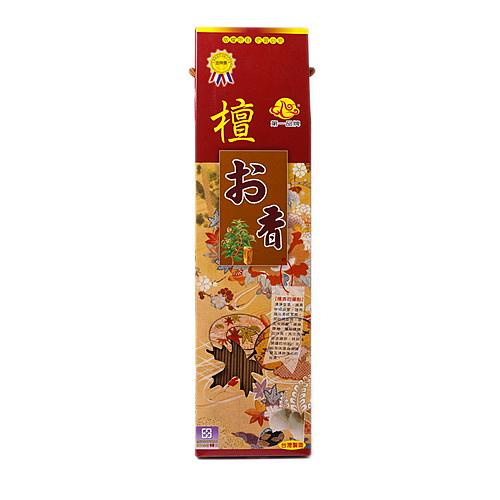 【如意檀香】【日式檀香】立香 尺3 1斤/盒裝