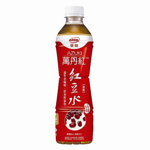 《限宅配1箱》愛健 萬丹紅 紅豆水 530ml*24瓶箱