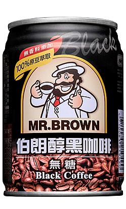 【免運直送】金車伯朗醇黑咖啡240ml-(24罐/箱)【合迷雅好物超級商城】
