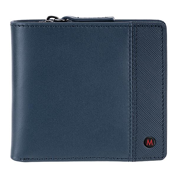 錢包為L型拉鍊開口及加厚折邊,拿取方便n大容量: 雙鈔票夾層/八卡容量/半獨立式拉鍊零錢包