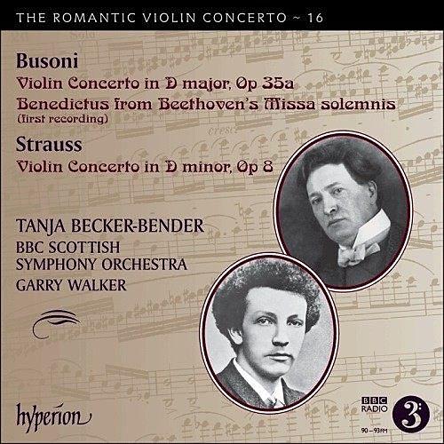 停看聽音響唱片】【CD】浪漫小提琴協奏曲第16集 - 布梭尼、理察.史特勞斯:小提琴協奏曲