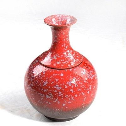 窯變 陶瓷 普洱密封罐茶具景德鎮