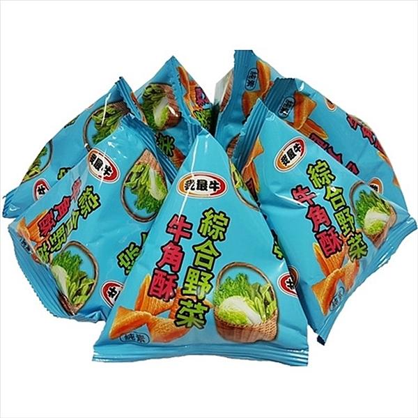 我最牛牛角酥-綜合野菜 500g【4719778007093】(馬來西亞零食)