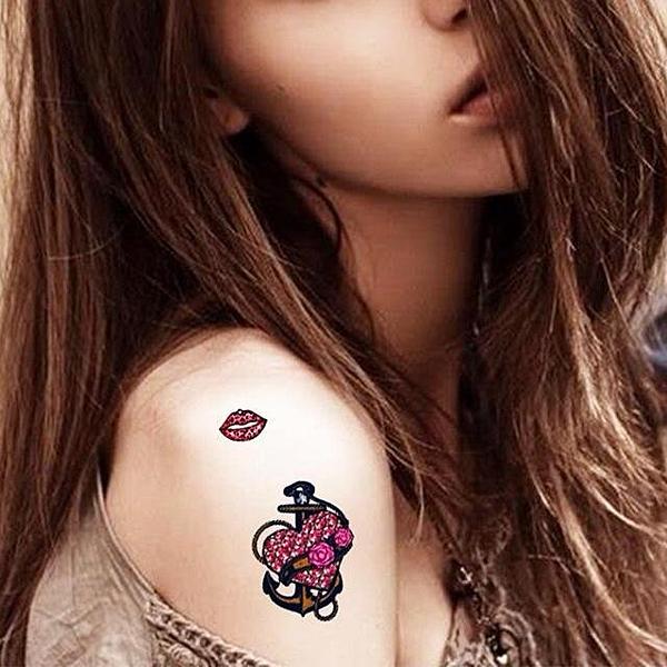 薇嘉雅  長條飾品  紋身貼紙 HM479