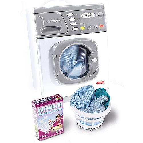 《 英國 CASDON 家電玩具 》WashMATIC 電動玩具洗衣機╭★ JOYBUS玩具百貨