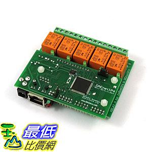 [8美國直購] Ethernet Relay Card 5 Channel - SNMP, HTTP/XML API, Real Time Clock