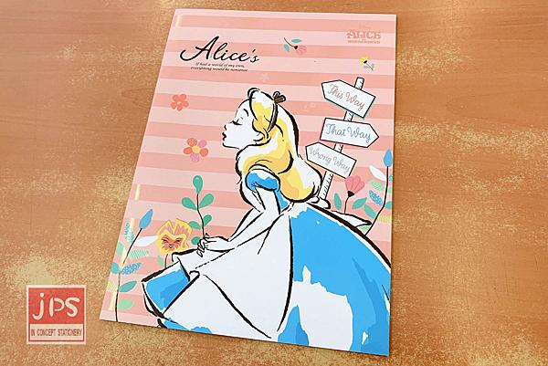 Disney 迪士尼 愛麗絲夢遊仙境 16K定頁筆記 DPNA-242