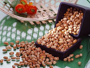 【佳瑞發‧紅麴納豆/小包裝】將黃豆+天然紅麴做成酥脆順口的美味 。純素