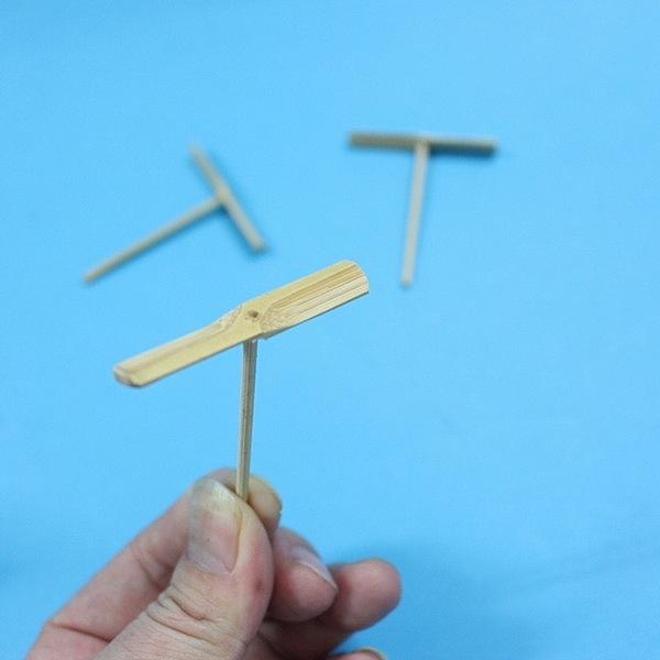 迷你竹蜻蜓 台灣製竹蜻蜓(兩指飛竹蜻蜓)/一支入(促20) 手工竹蜻蜓 竹製竹蜻蜓 MIT