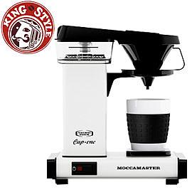 金時代書香咖啡   Moccamaster 單杯濾泡式咖啡機 CUP ONE W 白色   (歡迎加入Line@ID@kto2932e詢問)