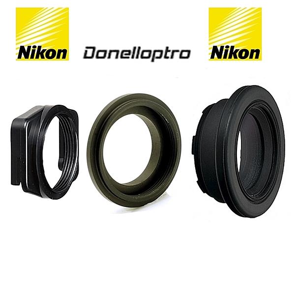 Nikon尼康方轉圓DK-22轉接器+多尼爾接環DK22轉DK17+尼康原廠DK-17M眼罩放大器適D5500 D5300 D5200 D5100