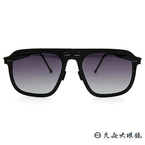 ROAV 美國 折疊 Virgil 薄鋼墨鏡 偏光太陽眼鏡 Mod8003 消光鐵灰