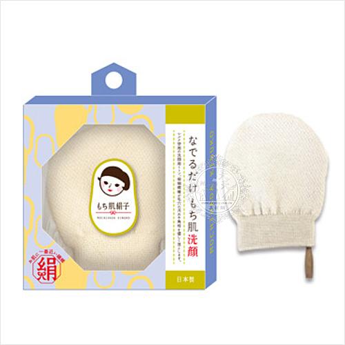 【日本原裝】貝印SLK1501嫩膚娟子潔面撲(1入) [52296]臉部清潔