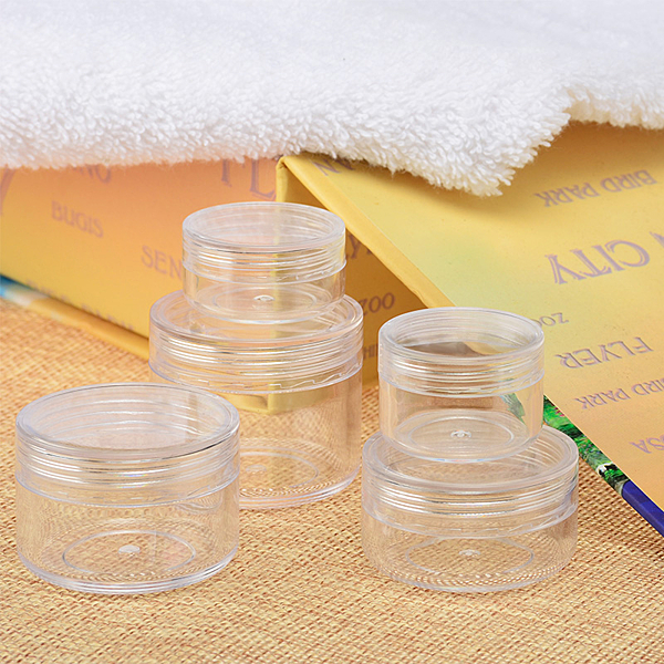 『藝瓶』瓶瓶罐罐 空瓶 空罐 隨身瓶 旅行組 藥膏盒 化妝保養品分類瓶 透明圓形乳霜分裝瓶子-20g