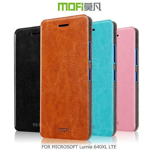 ☆愛思摩比☆MOFI 莫凡 Microsoft Lumia 640XL LTE 睿系列側翻皮套 保護殼 保護套
