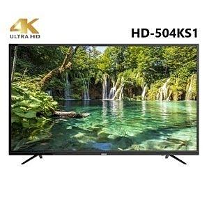 HERAN 禾聯 50吋 4K連網液晶顯示器 HD-504KS1