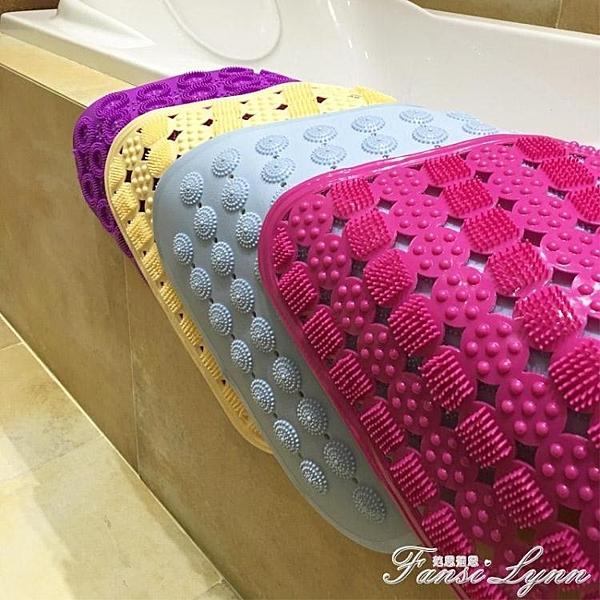 60*90大號 浴室防滑墊 淋浴房 地墊帶吸盤腳墊衛生間洗澡墊浴室墊HM 范思蓮思