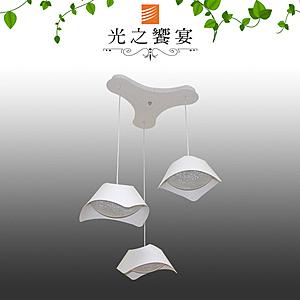 【光之饗宴】LED36W 坦帕3吊燈(三色光)