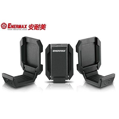 【好貨曜立即買】ENERMAX 耳機掛架 EHB001 (黑色)+羅技 G102 PRODIGY滑鼠