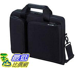 [7東京直購] ELECOM 手提公事包 可收納13.3吋筆電 衝擊吸收 側背 黑色